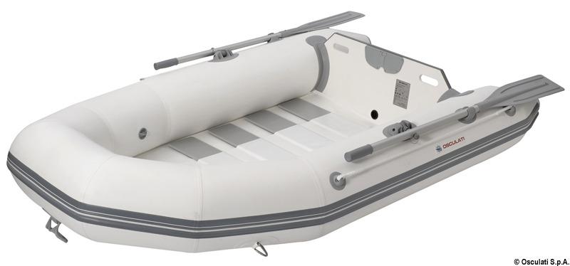 Klassische Tenderschlauchboote mit Lattenrollboden