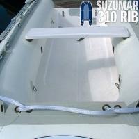 Suzumar DS 270 RIB mit festem GFK-Boden