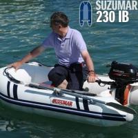 Suzumar DS 230 KIB mit aufblasbarem Boden und Kiel