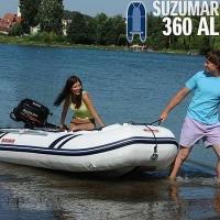 Suzumar DS 360 AL mit Aluminium-Einlegeboden (zerlegbar)