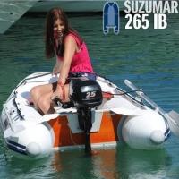 Suzumar DS 265 KIB mit aufblasbarem Boden und Kiel