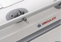 OSCULATI - Tender mit Lattenrollboden Modell 185 inkl. SUZUKI - Motor DF 4 PS